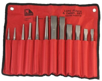 12pc Punch & Chisel Set