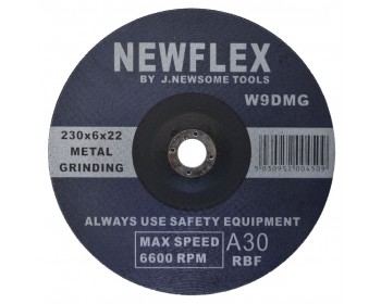 230mm D/C Metal Grinding Disc
