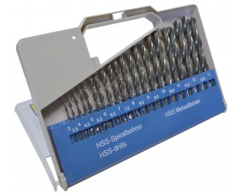 21pc HSS Drill Set (3mm-13mm)