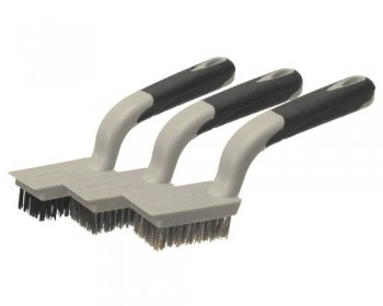 3pc Wire Brush Set