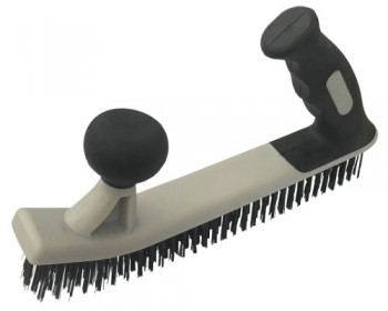 2 Handed 5 Row Heavy Duty Wire Brush