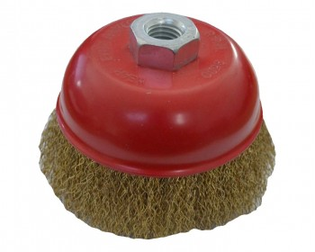 100mm x M14 Crimped Cup Brush