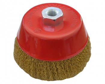 120mm x M14 Crimped Cup Brush