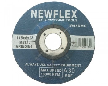 "4 1/2"" Depressed Centre Metal Grinding Disc"