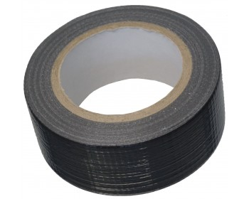 50mm x 50m Black Duct Tape