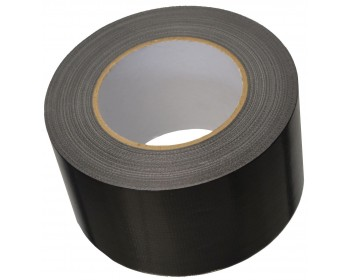 75mm x 50m Black Duct Tape