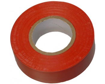20m x 19mm Red PVC Electrical Tape