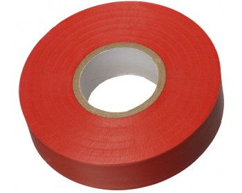 33m x 19mm Red PVC Electrical Tape