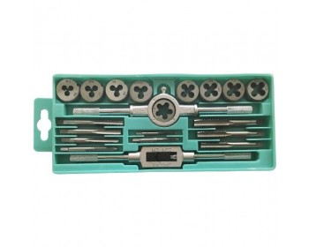20pc Metric Tungsten Tap & Die Set
