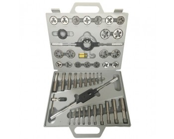 45pc Imperial Tungsten Tap & Die Set