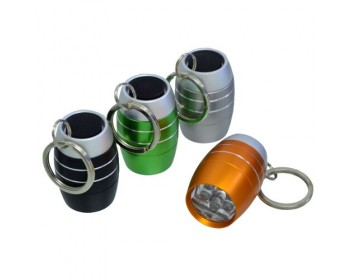 6 LED 3 Mini Keyring Torch