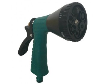 6 Dial Spray Gun With Cushion Grip