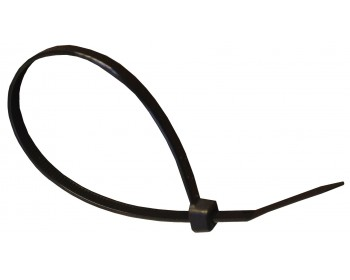 100mm x 2.5mm Black Cable Ties (100 per pack)