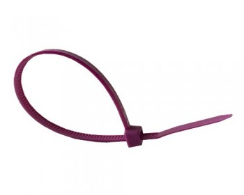 100mm x 2.5mm Purple Cable Ties (100 per pack)