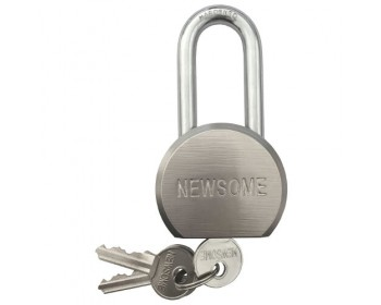 55mm Long Shackle Solid Steel Padlock