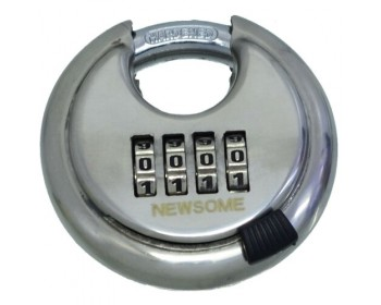 70mm Combination Moon Disc Padlock