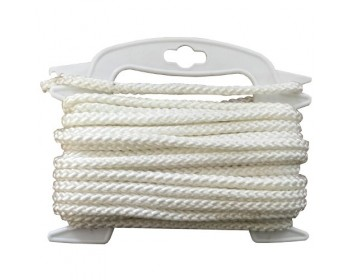 8mm x 10m Multi Function White Rope