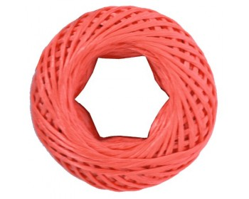 60m Red Twine Rope