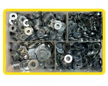 Assorted Heavy Flat Washers Imperial (1000)