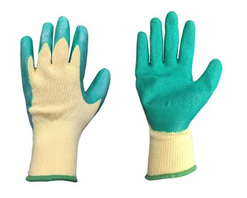 Extra Large Green Extra Grip Work Gloves