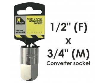 """1/2"""" Drive to 3/4"""" Drive Converter"""