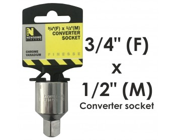 """3/4"""" Drive to 1/2"""" Drive Converter"""