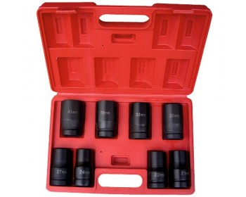 "8pc 1"" Drive Deep Impact Socket Set"